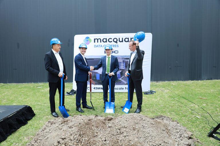 Macquarie Data Centres breaking ground
