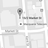 Macquarie Telecom Group - Sydney office map