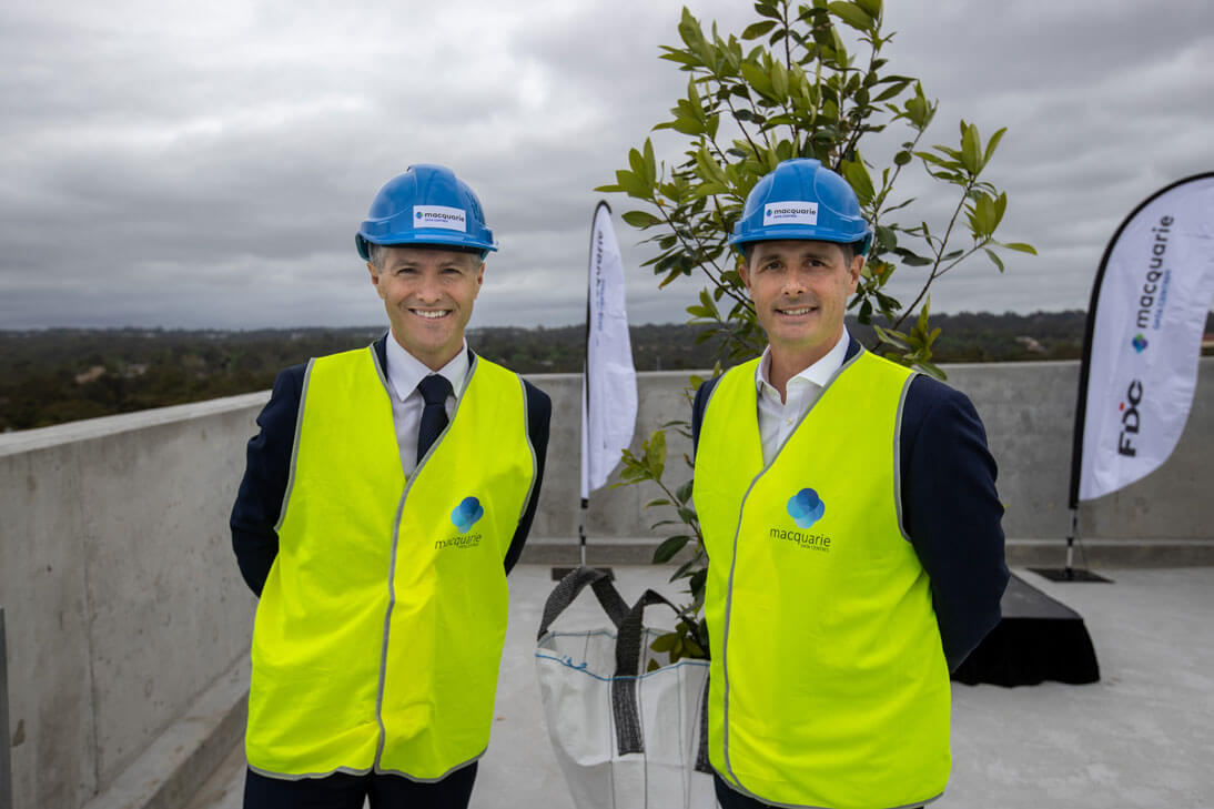 Macquarie Data Centres tops out hyperscale-ready facility in Sydney North Zone