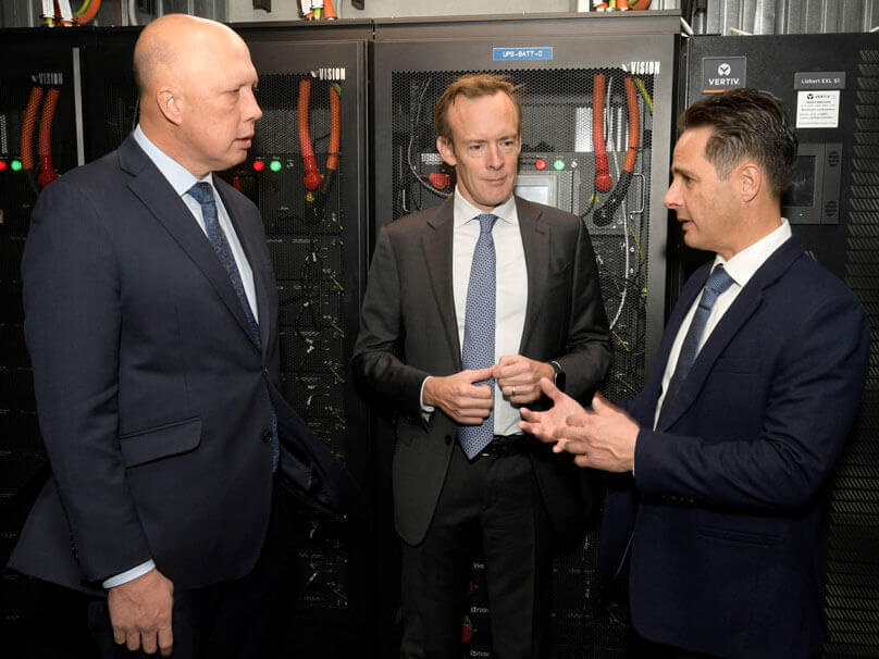 Opening of Canberra IC5 Data Centre | Macquarie Data Centres
